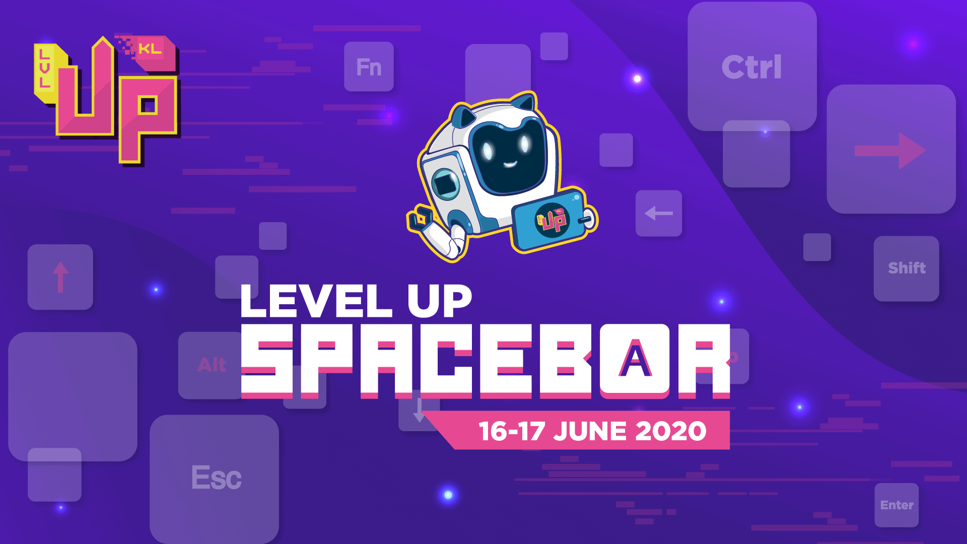 LEVEL UP SPACEBAR